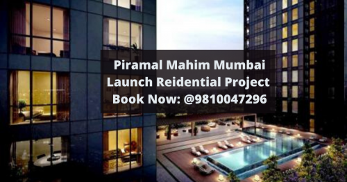 Piramal Realty is going to launch housing project at Mahim, Mumbai which is offer luxurious apartments. In this residential project you can find 2BHK to 4BHK apartments.  Visit Us: http://www.piramalmahim.srkresidency.com/