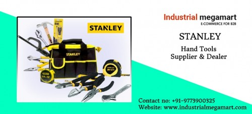 We at Industrial Megamart are committed to supply high quality, international standard stanley hand tools products across the world. We are India's largest supplier of workers hand tools with an intention to provide maximum satisfaction and to meet the need of genuine and low cost hand tools for our clients. So if you are looking for best quality and low cost hand tool solutions for your industrial requirements, We are always with you. You can place your orders directly, call us on +91-9773900325 TODAY!!!  Address: Industrial Megamart ithum Tower B, Noida sector 62  Noida, UP. India, Pincode: 201301 Contact no: +91-9773900325 Visit: https://www.industrialmegamart.com/