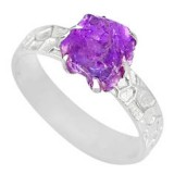 925-silver-natural-raw-amethyst-rough-solitaire-ring-size-8-r79388