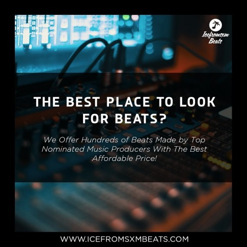 Looking for the most beats with very affordable price? We have all of your beat solution here. Beats made by top nominated producers and you can also custom your beat and work with them  Visit icefromsxmbeats.com and get 5 beats with only http://icefromsxmbeats.com/