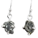 natural-diamond-rough-925-sterling-silver-dangle-earrings-jewelry-r79200