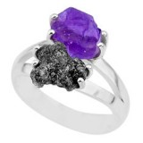 natural-diamond-rough-amethyst-rough-925-silver-ring-size-7-r92241
