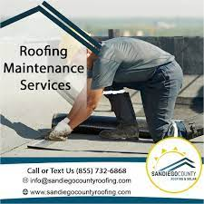 San Diego County Roofing & Solar is a prominent roof repair agency providing a range of customized roofing services for over 25 years. The # 1 roofing company in San Diego has its quality standards that make it the best choice forever.    https://sandiegocountyroofing.com/roof-repair/   #sandiegoroofrepair #roofrepairsandiego #roofingrepairsandiego #leakingroofrepaircompanies
