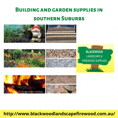 Trying to renovate your front porch by adding designer landscape materials? At Blackwood Landscape & Firewood supplies, you can choose from high-quality building and garden supplies in Southern Suburbs. Staying from your home's comfort scroll through our huge collections and let us know your choice. Our highly qualified and experienced team excels in offering premium landscaping and retaining wall projects that will last years. You can also book a consultation with us and our team will let you know the best possible packages according to your budget and expectations. Let our local tradespersons do the job for you, give us a call on (08) 8278 6133 now!  http://www.blackwoodlandscapefirewood.com.au/