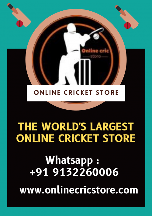 The World's Largest Online Cricket Store