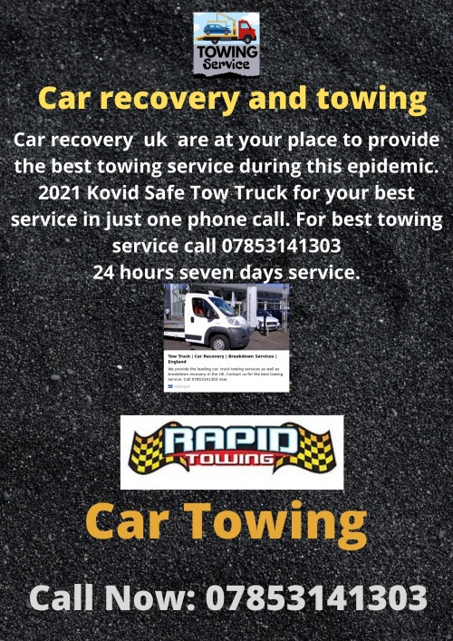 Car recovery and towing