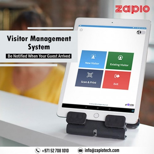Zapio's touchless visitor management system makes handling guests simple and effective.  Read more, https://zapiotech.com/visitor-management-system-dubai.html  Get in touch with us at info@zapiotech.com Connect with us: +971 527081010   #visitormanagementsystem #visitorapp #security #visitorentrysystem #visitormanagement #employeemanagementsoftware #zapio #dubai #uae