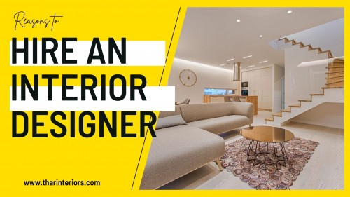 Hire the best interior designer in India for your office space. Here are the top reasons why you should hire an interior designer? Our good experience team will create and execute the design process as per your requirement.
