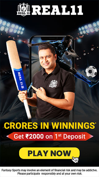 Play fantasy sports and earn daily cash prizes with Real11. Convert your love for a sport into something more significant and critical. With an intent to dominate the entire fantasy sports market, Real11 has already governed the space of fantasy cricket in India  https://real11.com/fantasy-cricket