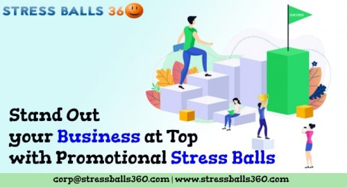 Stand Out your Business at Top with Promotional Stress Balls stressballs360