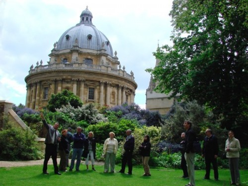 Knowledgeable experienced tour guides will take you inside Oxford University's historic dining halls & chapels.  College admissions included in price: £14.95 adults, £13.95 concessions, £6.95 children.  Harry Potter fans will see where Malfoy was transformed into a ferret.  Est. 1985.  https://www.oxfordwalkingtours.com