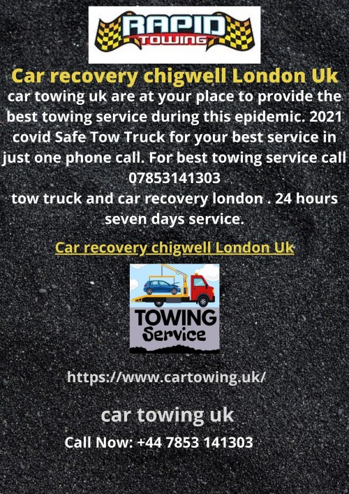 Car recovery chigwell London Uk