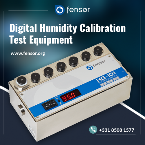 Buy now best digital humidity calibration test equipment at reasonable price. Contact us Fensor SAS on +331 85081577 for more details.   Visit: - http://www.fensor.org/portable-humidity-calibration-test-equipment/
