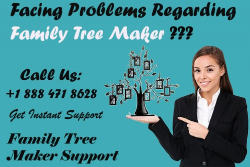 family tree maker help number