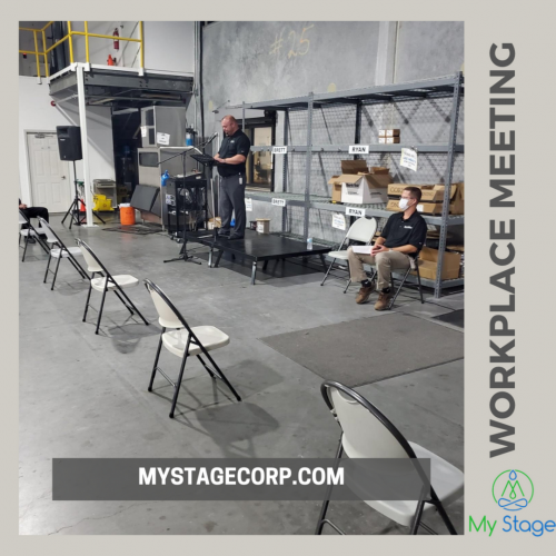 The best portable stage is the one that addresses all the concerns of users like assembly, transportation, weight, storage, alternate usages, cost, stability, life, etc. MyStage portable stages serve all the purposes of buying a set-anywhere platform.  http://www.mystagecorp.com/