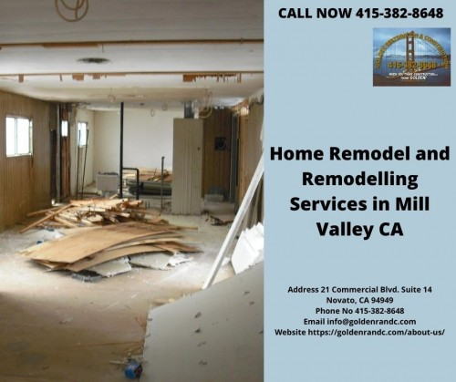 Remodel & RemodelingMill Valley, CA