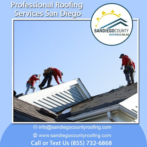 San Diego County Roofing & Solar is the best agency to outsource the quality best professional roofing services in San Diego. The company has advanced facilities and experienced roofers to complete any roofing task on the time.  https://sandiegocountyroofing.com/residential-roofing/