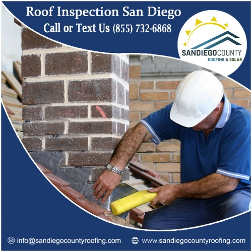 San Diego County Roofing & Solar, the top roof solutions provider, offers free services for roof inspection in San Diego. The experienced roof inspection experts help the building owners to understand the requirements, roofing process, required funds, completion period etc.  https://sandiegocountyroofing.com/roof-inspections/