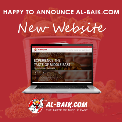 AL BAIK.COM LAUNCH POSTER