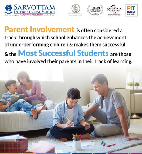 Parent involvement is often considered a track through which school enhances the achievement of underperforming children and makes them successful and the most successful students are those who have involved their parents in their track of learning. Get more information - https://www.sarvottamnoida.com/