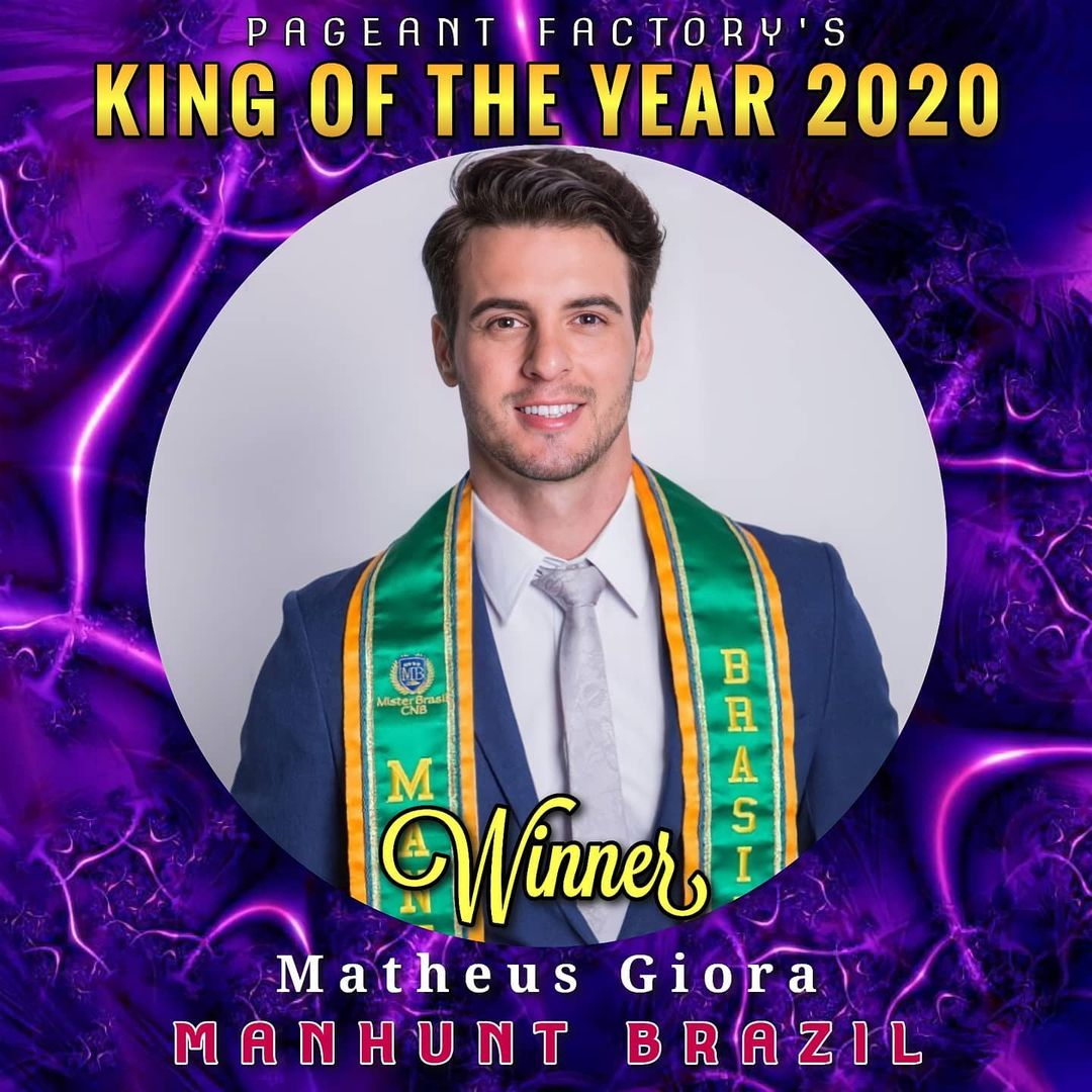 king of the year 2020 de pageant factory's. WAa7c