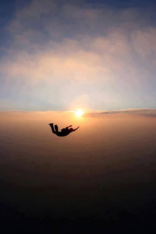 Jumping in the sky