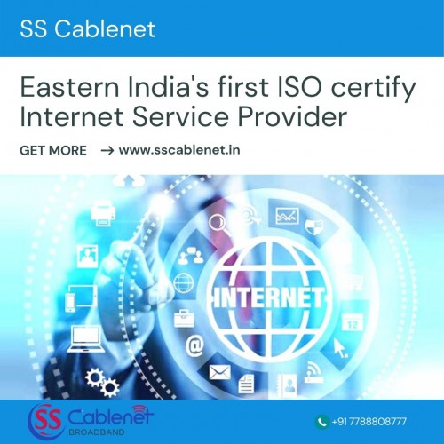 Eastern India's first ISO certify Internet Service Provider
